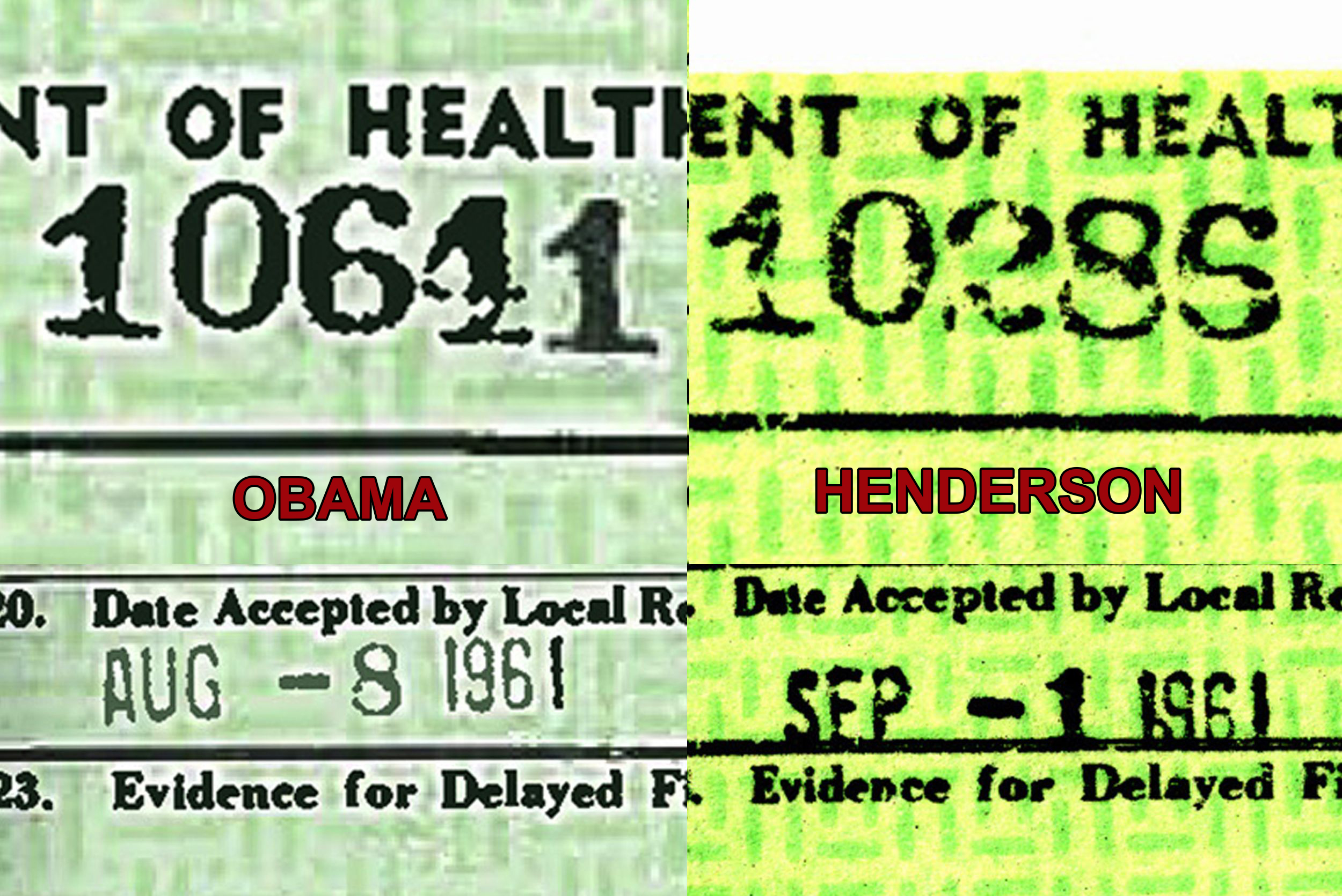 Breaking news marshall davis obamas junior year abroad in pakistan obamas connecticut ssn and releases comparison birth certificates from the state of hawaii aiddatafo Image collections
