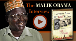 Malik Obama Talks To Joel Gilbert
